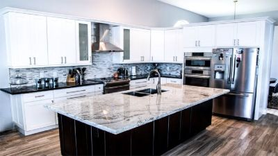 Dove White Shaker Kitchen Cabinets, Vanities and Accessory Wholesaler
