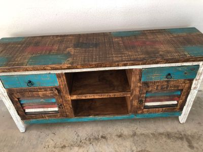 Rustic Wood Media Center or Buffet
