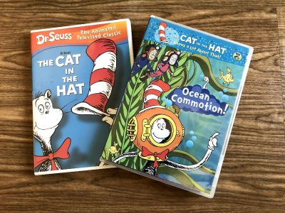 The Cat in the Hat DVD Lot! Original TV Classic & Ocean Commotion! Great Condition! Take both for $3