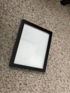 7.5 X 9.5 Wood Picture Frame