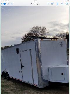 32' enclosed Trailer 9000.00