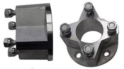 Buy GOLF CART WHEEL SPACERS 4/4 BOLT PATTERN (3 In) 1 Pair motorcycle in Hanover, Indiana, US, for US $89.95