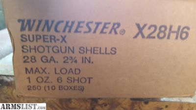 For Sale: 28 gauge ammo