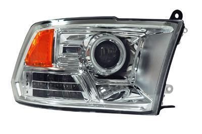 Find Anzo Headlights Projector With CCFL Halo Chrome Housing 2009-2010 Dodge Ram 1500 motorcycle in Tallmadge, Ohio, US, for US $459.97
