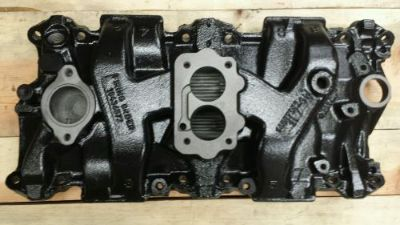 Buy Rare NASCAR racing 382X cast iron 2bbl sbc 350 5.7 chevy intake manifold 2barrel motorcycle in Berlin, Connecticut, United States, for US $399.00