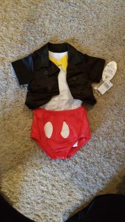 Nwt 6 month Mickey mouse Halloween costume
