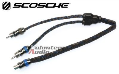 Purchase Scosche Efx Hexadmm 1 Female 2 Male Rca Y Cable Interconnect Audio Cables motorcycle in Oliver Springs, Tennessee, United States, for US $19.99