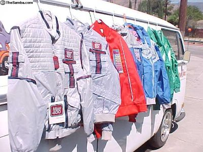 1980's Off Road event Racing jackets