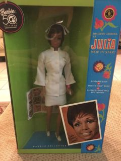Collectible Julia doll , television series in the 70 s
