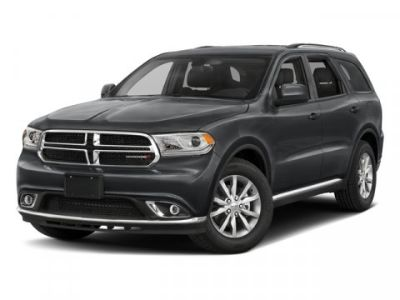 2018 Dodge Durango Crew (Db Black Clearcoat)