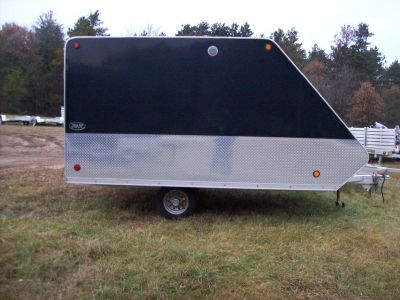 2012 R&R Trailers 2 Place Enclosed Trail Sport Trailers Wisconsin Rapids, WI