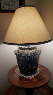 Country Blue Lamp