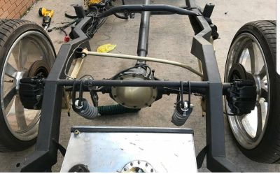 2 link set up with narrowed rear end