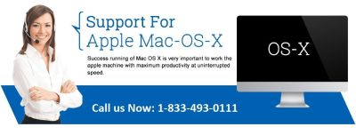 Mac OS X Technical Support Number 1-833-493-0111