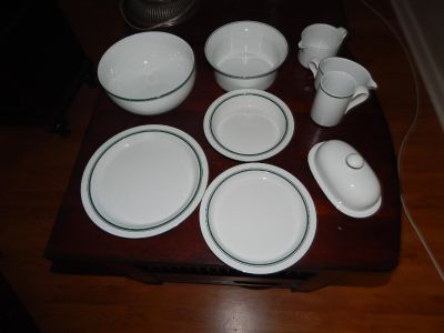 Dansk China 8 piece set with extra pieces
