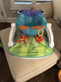 Fisher Price frogger seat $12
