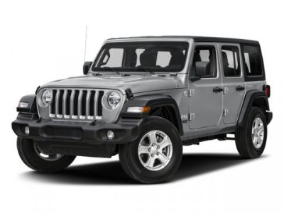 2018 Jeep Wrangler Unlimited Sport (Bright White Clearcoat)