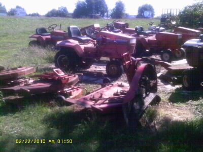 Gravely parts tractors