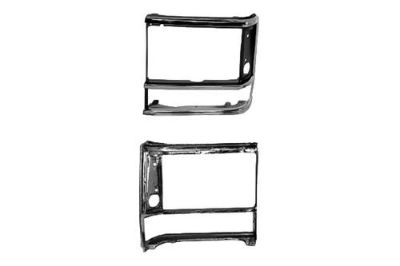 Purchase Replace CH2512106PP - Chrysler Town and Country LH Driver Side Headlight Door motorcycle in Tampa, Florida, US, for US $37.14