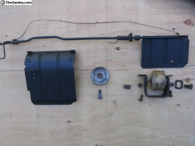 72-83 Bus Air Flap/Thermostat Kit, Fan House