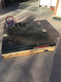 Rice Lake 4'x4' low profile platform scale