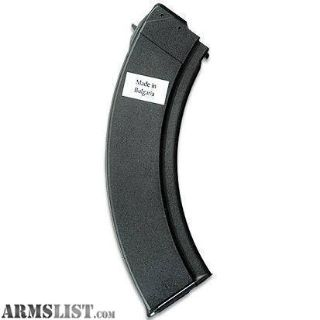 For Sale: Bulgarian AK-47 40 Round Magazine 7.62x39 Black Polymer Over Steel Brand New Mags Buy 2 & Save!!!
