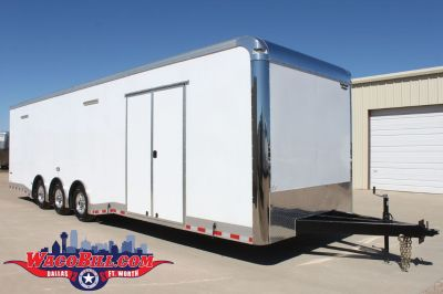 Race Trailer 32' Sale Now Through Dec 31st.