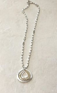 Kenneth Cole Circle Pendant Necklace
