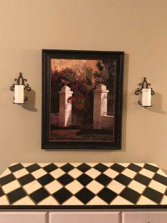 3 pc wall decor