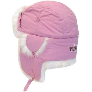 Buy Yukon Taslan Alaskan Hat - Pink With White Fur - Medium HG668 ATV Apparel motorcycle in Weiner, Arkansas, United States, for US $30.43