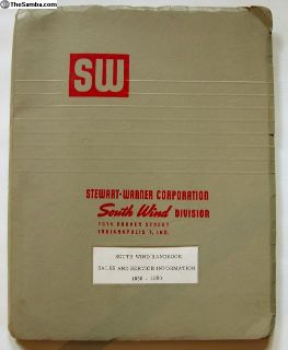 1959 Dealer Binder of Gas Heater Literature
