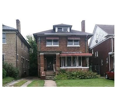 3 Bed 1.5 Bath Foreclosure Property in Detroit, MI 48206 - Atkinson St