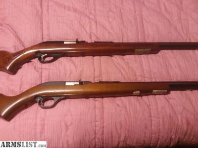For Sale: Two Marlin Model 60's