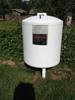 Well System - Captive AirWater Tank