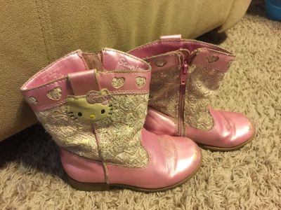 Hello Kitty Pink Boots