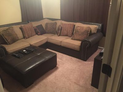 Brown Sectional