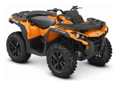2019 Can-Am Outlander DPS 650 Utility ATVs Lancaster, NH
