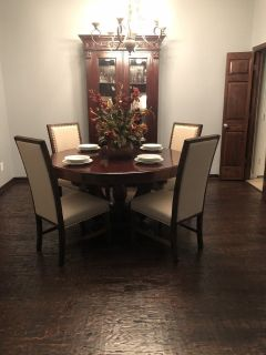 Dining Set, 6 chairs included