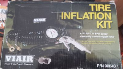 Viair tire inflation kit 150 psi trigger valve
