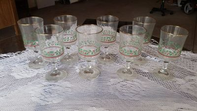 Hardee Christmas Goblets
