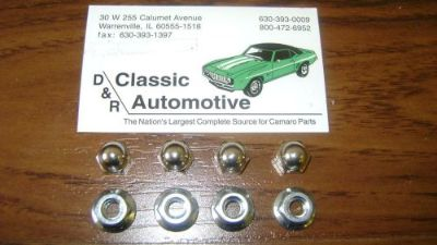 Buy Rear Spoiler Hardware Kit 8pc Nuts 67-69 Camaro Firebird **In Stock!** motorcycle in Warrenville, Illinois, United States, for US $18.95