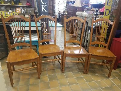 Kitchen chairs $135 for the set plus tax