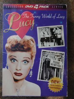 NEW The Funny World of Lucy (DVD 4-pack set)