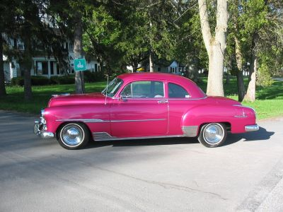 1951 Chevy Deluxe Sport Coupe