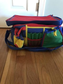 Cute storage bag for arts and crafts