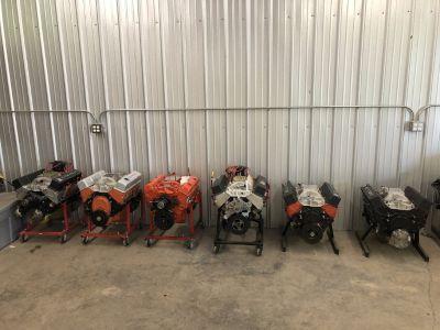 350 355 383 fresh blueprinted engines.