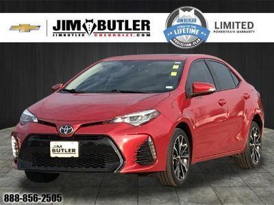 2017 Toyota Corolla Y (Red)