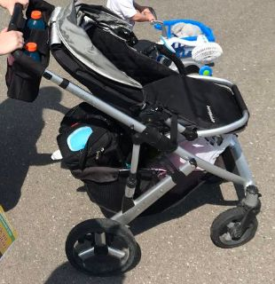 Uppababy vista stroller with add ons