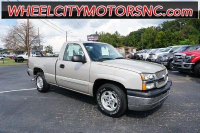 2004 Chevrolet Silverado 1500 Work Truck (Silver Birch Metallic)