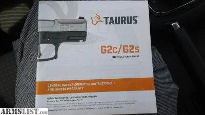 For Sale: New Taurus G2C